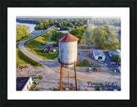 Clarendon, AR | Water Tower Picture Frame print