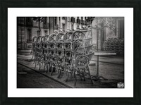 French Bistro Picture Frame print