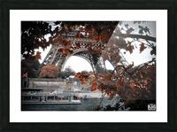 Autumn in Paris Picture Frame print