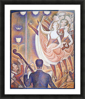 The big show by Seurat Picture Frame print