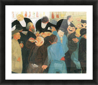 The bistro by Felix Vallotton Picture Frame print