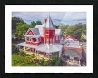 Lawrenceburg, TN   The Garrett House Picture Frame print