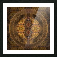 Casbah Window Picture Frame print