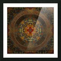 Tibetan Window Picture Frame print