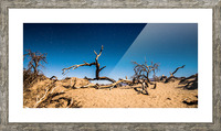 Death Valley Night Picture Frame print