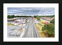 Lonoke, AR | Headed W on 70 Picture Frame print