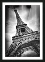 PARIS Eiffel Tower  Picture Frame print