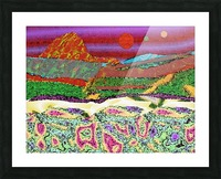 Mountainscape 0625 Picture Frame print