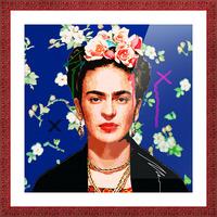 Frida X Picture Frame print