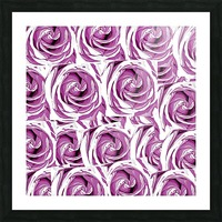 closeup pink rose texture pattern abstract background Picture Frame print