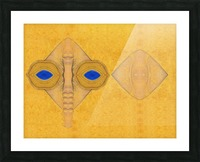 Abstract Masks 0626 Picture Frame print