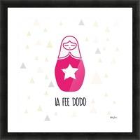 LA FEE DODO Picture Frame print