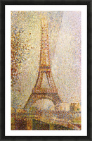 The Eiffel Tower by Seurat Picture Frame print