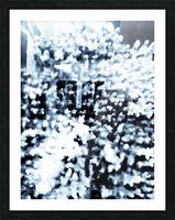 BURST - INVERTED Picture Frame print