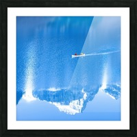 Icy blue  Picture Frame print