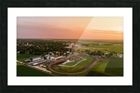 Schuyler County, IL Fairgrounds Picture Frame print