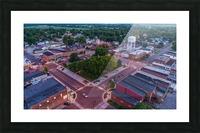 Rushville, IL Square Picture Frame print