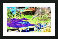 Old City Wall landscape. Picture Frame print