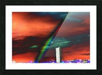 Rainbow. Picture Frame print