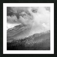 Winter Landscape V Picture Frame print