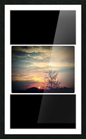 Sunset Above Walmart on December 2cd  Picture Frame print