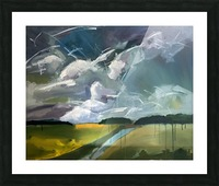Dancing Clouds_final Picture Frame print