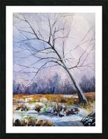 Walnut Tree Picture Frame print