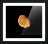 Moon - 4.27 Picture Frame print