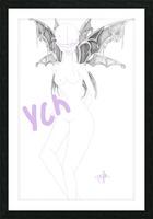 YCH demonix Picture Frame print
