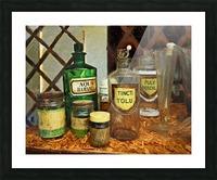 Pharmacie Picture Frame print