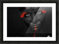 Dark passion Picture Frame print