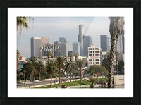 Westlake Theater to Los Angeles Picture Frame print