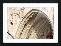 Church Arch Picture Frame print