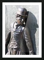 Mr. Charlie Chaplin Picture Frame print