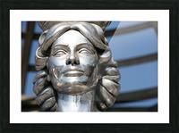 Silver Statue Face of Dorothy Dandridge Picture Frame print
