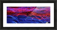 lights abstract curves long exposure Picture Frame print