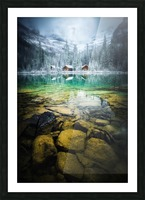 Ohara lodge Picture Frame print