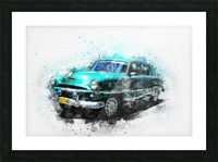 car Picture Frame print