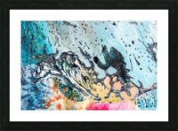 abstract1 Picture Frame print