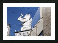 Hollywood Dancing Elephant Picture Frame print