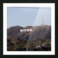 Hollywood and Helicopters Picture Frame print