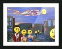 homo smilikus Picture Frame print