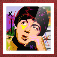 Sir Paul X Picture Frame print