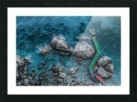 The Beach - Amalfi Coast - Italy Picture Frame print