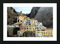 Amalfi  Old Town - Italy Picture Frame print