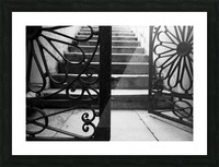 The gate Picture Frame print