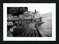 Atrani Village Picture Frame print
