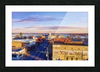 Pine Bluff,  AR | Downtown Picture Frame print