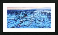Lonoke, AR | Snowday! Picture Frame print