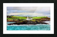 Lighthouse Cobh Ireland Paint effect Picture Frame print